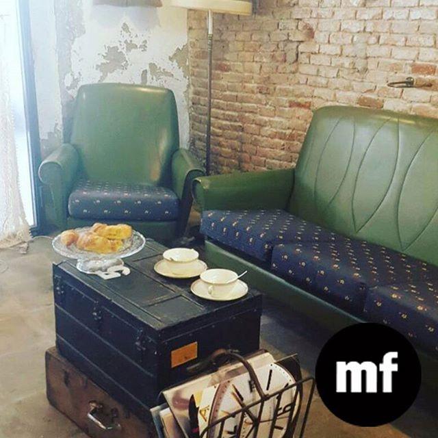 Día de croissant franceses en muchafibra  ???? Acompañado con café o thé Ven ! Estamos abiertos hasta las 2pm  Ven a tomar un descanso y un momento para ti con nosotros en #muchafibra