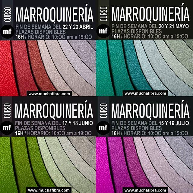 Calendario Marroquineria #muchafibra  Aprende a confeccionar tus accesorios de cuero  Aprovecha para cerrar fechas  #sewingclasses #barcelona #doityourself #handmade