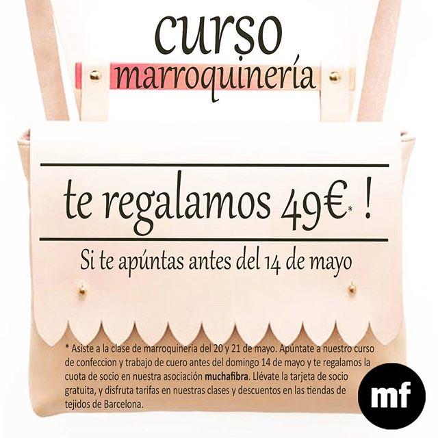 Aprende a coser cuero y confecciona tus propios #accesorios de #piel  créeme que te va a encantar ! #muchafibra #barcelona #sewingclasses #marroquineria