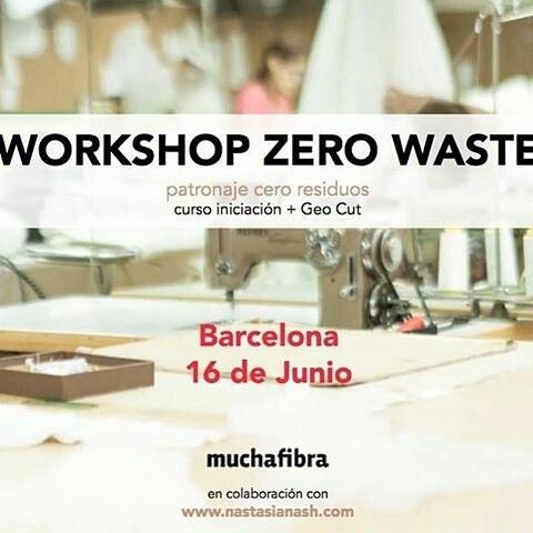 #Repost @nastasianash with @appreposter Seguimos con los #cursopatronaje y esta vez en @muchafibra de Barcelona!!! Un workshop de diseño y creación de prendas de forma sostenible y totalmente #ceroresiduos # Si tenéis ganas de aprender técnicas nuevas y respetuosas con el medio ambiente aprovechad este curso! Para más información link en mi bio  #patronajesostenible #sewingpattern #ecodesign #workshopzerowaste #diseñosostenible #zerowastefashion #patterndesign #buyhandmade #makersmovement #buylocal #ecoeco #cutsew Próximamente en nuestro taller #muchafibra ! Take care of home and people ???????????? La industria del textil es la primera más contaminadora de nuestra sociedad de consumo  Toca adaptar nuestros modos de producción para seguir amando la moda sin dañar a nuestra home sweat home  #sewingclass #slowfashion #modasostenible #sustainablefashion