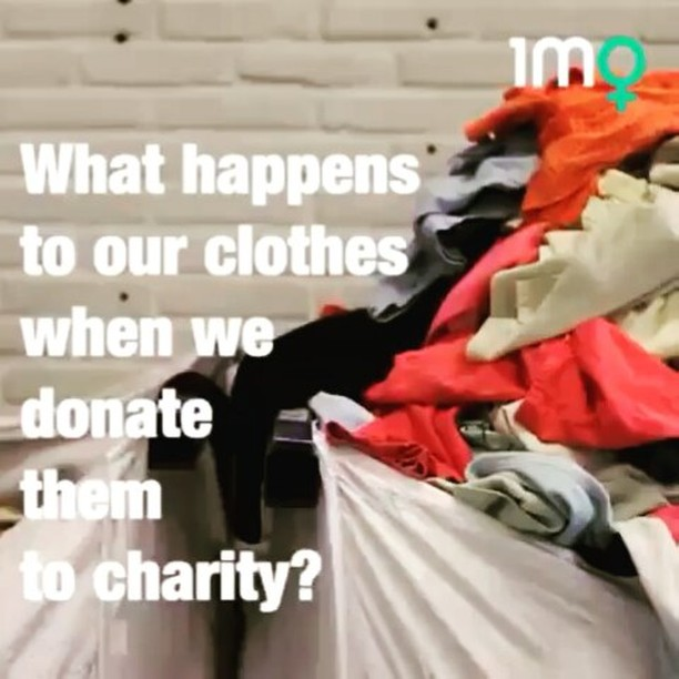 "#Repost ""we can't buy new clothes constantly with the idea that we'll donate them all to our local #opshop once we're done with them. It's not as simple as that, let's end #fastfashion""@1millionwomen Take care of home and people ???????? Hay que tomar conciencia @1millionwomen #muchafibra #zerowaste #fashionrevolution #slowfashion #ecocostura #modaetica #sostenible #sustainablefashion #fashionrev #barcelona #whomadeyourclothes"