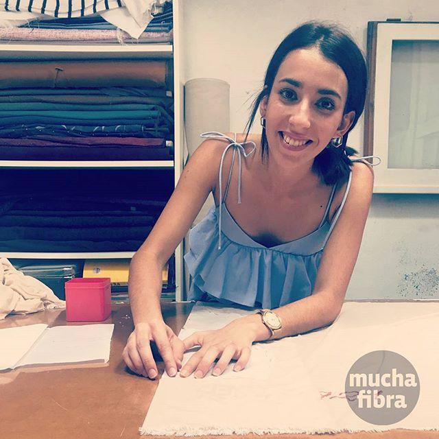 Siempre un placer ver la sonrisas de nuestros alumnos  Cursos de Lencería y Bikini disponibles en  nuestro taller  @patrichirino_ #muchafibra #barcelona #sewingclass #coworkingmoda #lenceria #bikini #whomadeyourclothes #mademyclothes #diy #patterndrafting #patternmaking