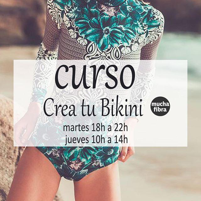 Es cuando estamos de vacaciones  que nos  damos cuenta de la importancia del #bikini o del #bañador !! Apunta  lo que te gustaría realmente.. y  el 4 de septiembre ven  a realizar  tu #ropadebaño con nosotros.️ #sewingclasses #asesoramiento #consulting #patternmaking #whomademyclothes  #coworking en #barcelona #swimingclothes