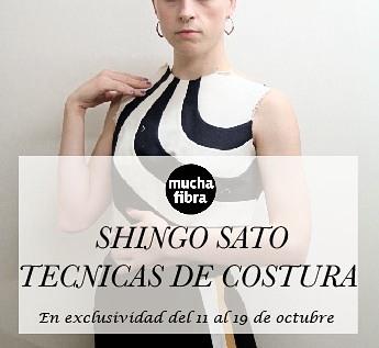 Empezamos la semana con el mejor maestro Shingo Sato, tenemos el gusto de trabajar y aprender este mes nuevas técnicas de costura, reconstrucción y transformación de prendas, descubre nuestros cursos masterclass  Moulage sobre Cuerpo, de Moulage Creativo, de TR iniciación y avanzado, de origami textil. Apúntate al que mas te guste, reserva tu plaza ya solo quedan pocos días para que terminen los cursos. Innova y crea con nosotros!#muchafibra #shingosato #workshops #cursos #creative #fashion #moulage #patterns #patterndesign #cuttingandsewing #origamitextil #fashionbarcelona