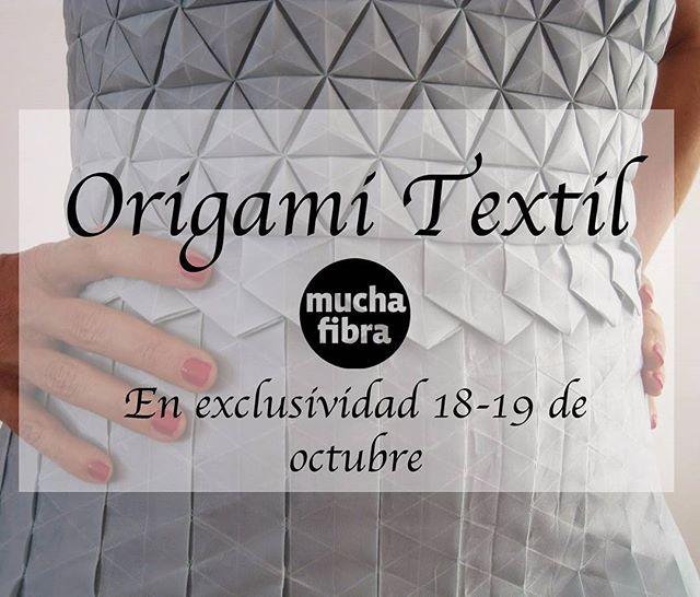 Últimos días con Shingo Sato!Crea volúmenes nuevos, jugando a origami pero con telas, investiga nueva formas, En exclusividad  masterclass textil origami con [...] </p> </div> </div>   <div class=