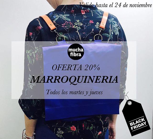 Black friday!Aprovecha oferta de 20%, entusiásmate aprendiendo las diferentes técnicas de cuero y crea tu propio bolso! Todos los martes y jueves se imparte el curso de marroquinería, te encantará.Infórmate en nuestra web www.muchafibra.com o llámanos al 935665157#muchafibra #cursos #blackfriday #20%off #barcelona #coworking #marroquineria#cuero #leather #bolsos #purses #bags
