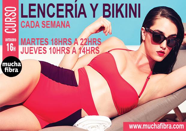 masterclass de bikini y lencería en Barcelona