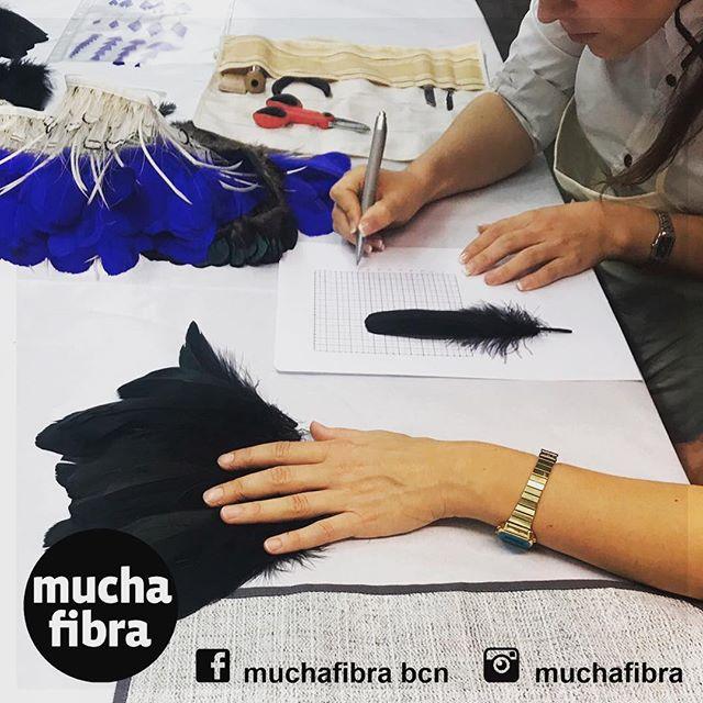 Un curso que dá alas ???? este fin de semana #plumería  todavía estas a tiempo para reservar tu plaza #plumas #diy#cursos #masterclass#artes
