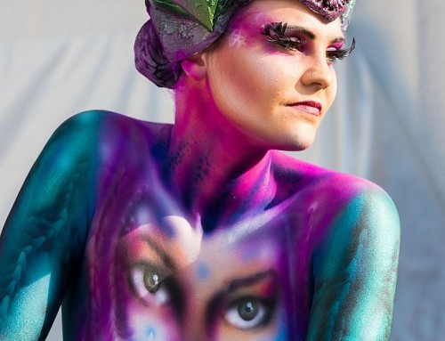El festival mundial de la pintura corporal