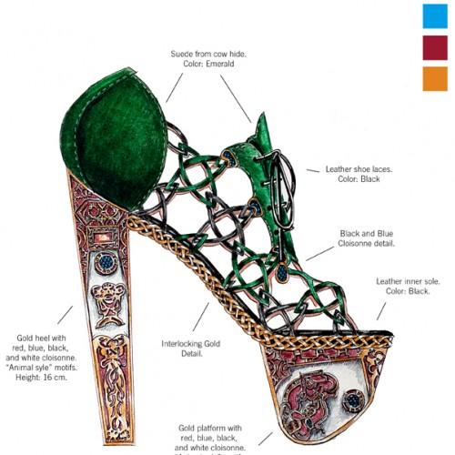 su zapato favorito, el céltico