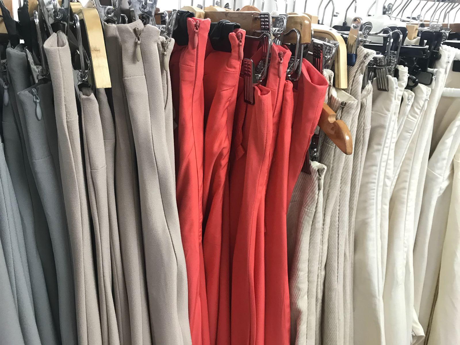 variedad de ropa hecho en nuestro taller