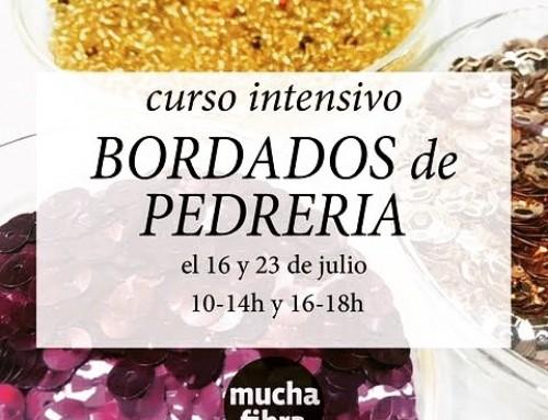 Acuérdate de reservar tu plaza para el #intensivo de #bordados para los dos próximos lunes del mes de julio aprovecha esa oportunidad infórmate al 935665157 #curso #perlas #pedreria #hilos #bordados #barcelona #actividades de#verano