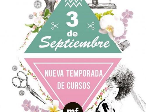 Ya estamos de vacaciones !!???????? los #cursos empezarán  de nuevo en septiembre ️ a partir del 3  pero si hay alguien interesado en el curso de #bordado tenemos ya un grupo formado para las fechas del 23/24 de agosto todavía estas a tiempo Inscríbete???? #barcelona #vacaciones #intensivo #bordados #actividades #freemind